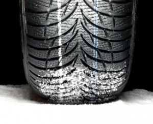Picture of a winter tyre